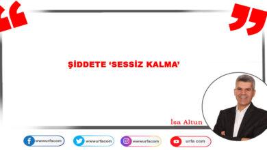 Photo of Şiddete 'Sessiz Kalma'