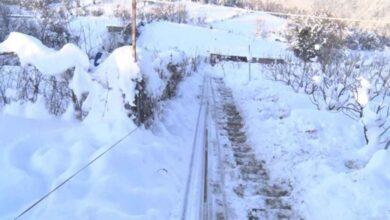 Photo of Sevdiği kadın için dağa 70 metrelik teleferik yaptı