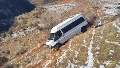 Photo of Minibüs şarampole yuvarlandı: 11 yaralı