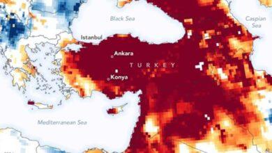 Photo of NASA'dan Türkiye'ye kuraklık uyarısı