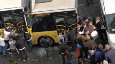 Photo of Otobüsün camını kırıp şoförü ve oğlunu darp ettiler