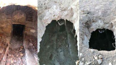 Photo of Tarlasını sürerken Roma dönemine ait toplu mezar buldu