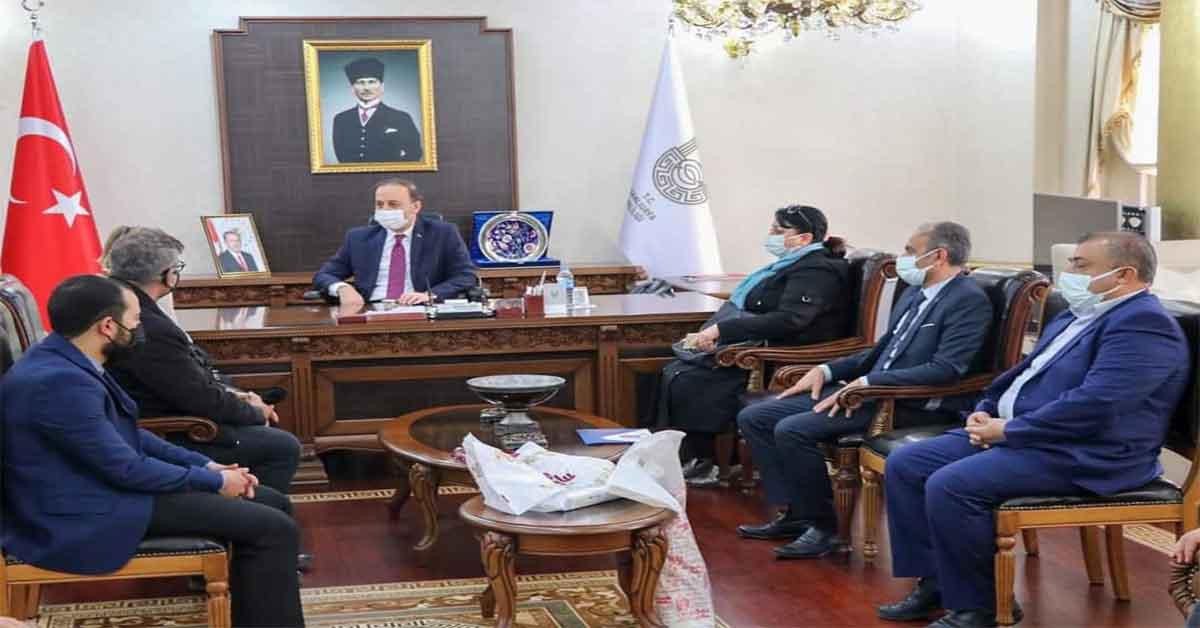 Şehitler dernek başkanı vali beyi ziyaret etti