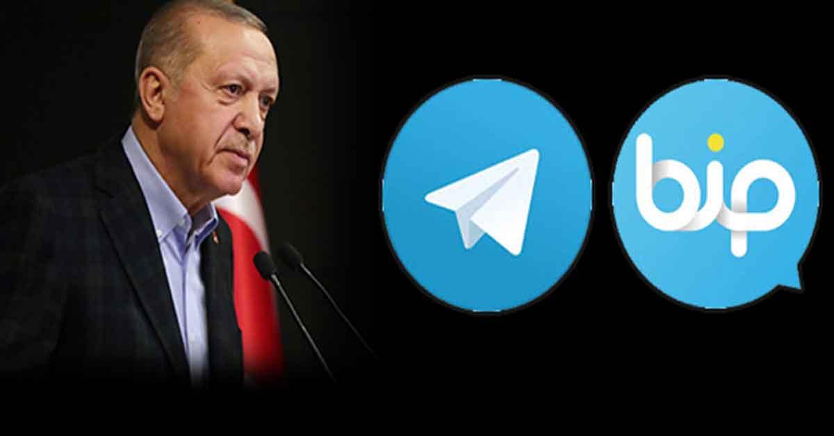 Telegram BİP Erdoğan