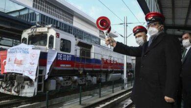 Photo of Rusya'ya gidecek olan ihracat treni yola çıktı