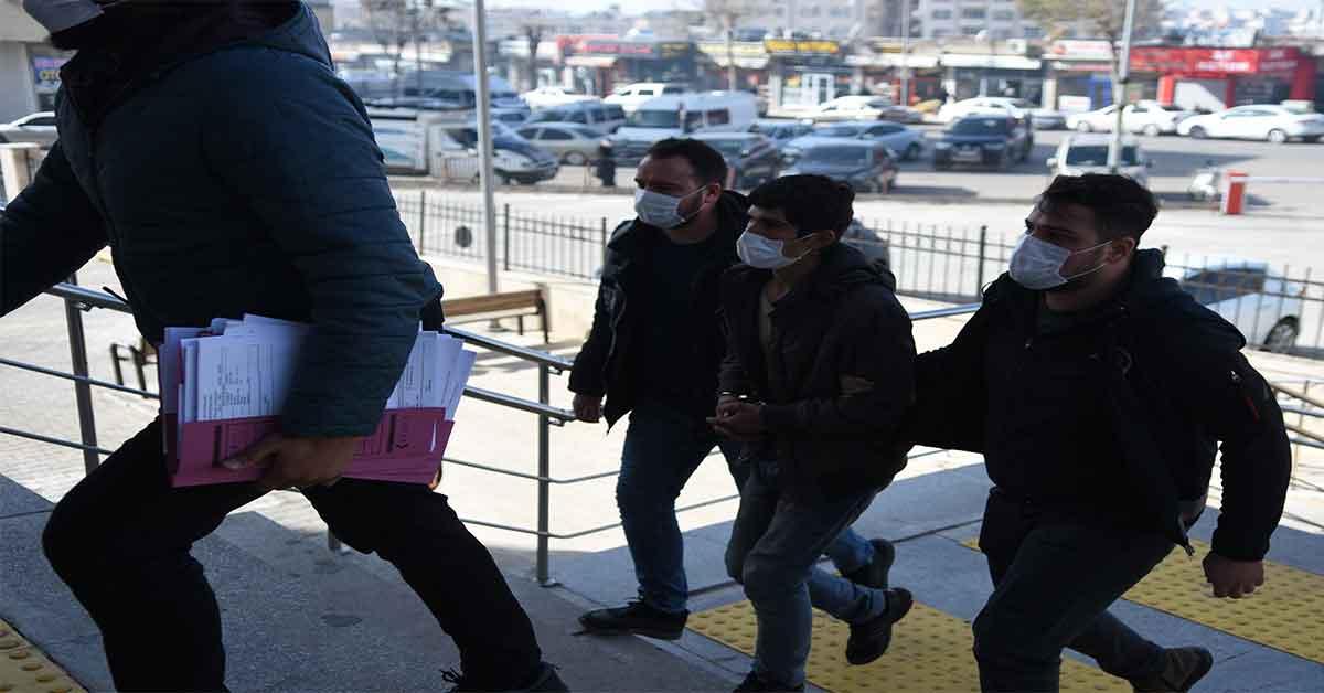 Urfa'da Kısıtlamada 8 iş yerini soyan hırsız yakalandı