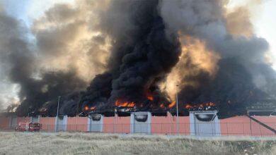 Photo of Şanlıurfa'da lojistik deposunda yangın