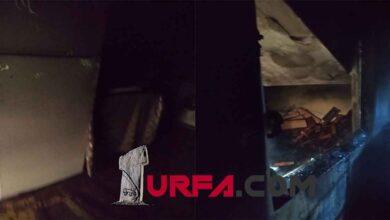 Photo of Urfa'da feci yangın anne ve bebek içerde mahsur kaldı