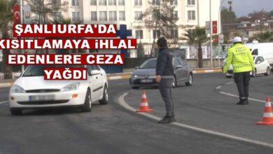 Photo of Şanlıurfa'da kısıtlamayı ihlal edenlere ceza yağdı