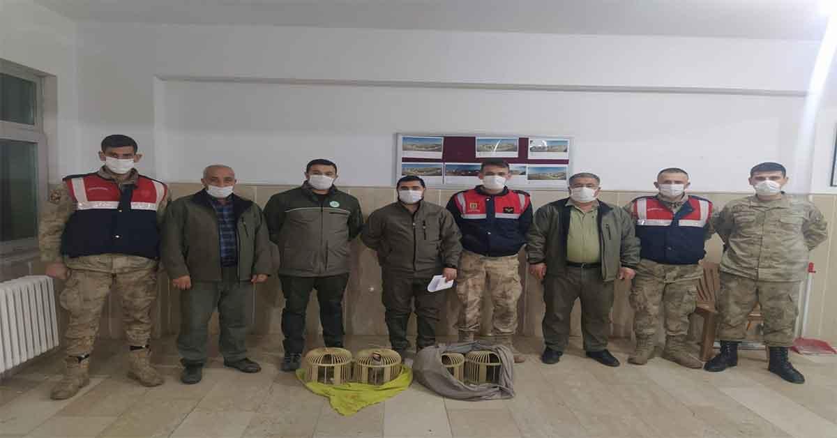 Şanlıurfa'da kaçak avlanan 7 kişi yakalandı