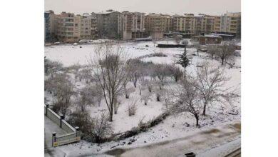 Photo of Urfalılar güne karla başladı