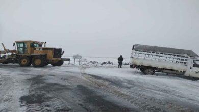 Photo of Şanlıurfa'da karla mücadele çalışmaları