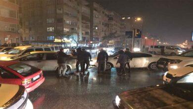 Photo of Şanlıurfa'da kısıtlama öncesi trafik kilitlendi