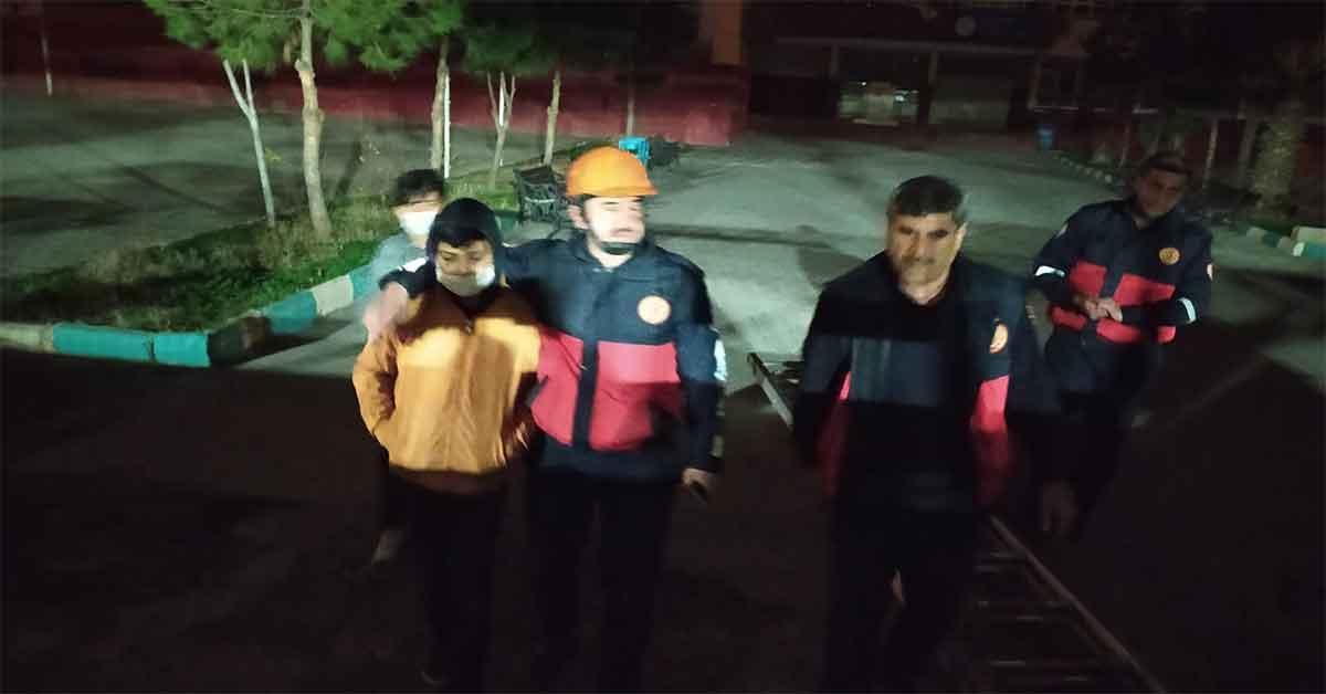 Urfa'da okul kilitlenen öğrenci kurtarıldı
