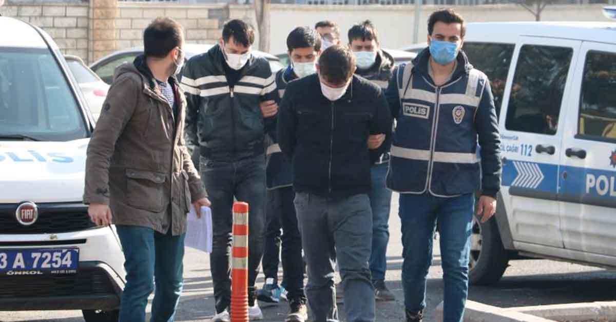 Şanlıurfa Tutuklama