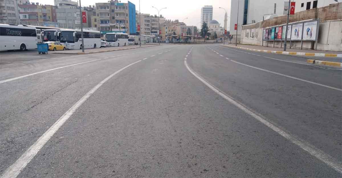 Urfa'da 80 saatlik sokağa çıkma yasağı devam ediyor