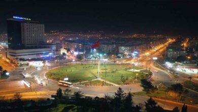 Photo of Şanlıurfa'da yeni yıl sessizliği havadan görüntülendi