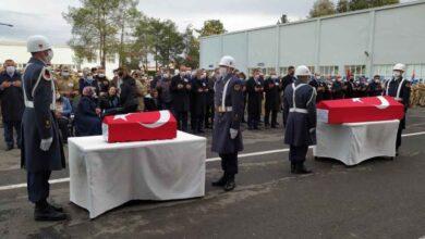 Photo of Uzman Çavuş ve Oğlu Törenle Memleketine Uğurlandı