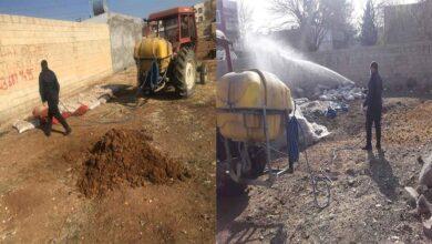Photo of Viranşehir Belediyesi'nden Larva ilaçlama çalışması