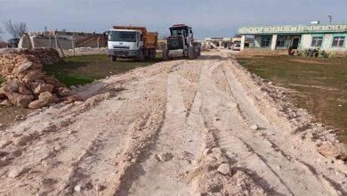 Photo of Akkese kırsal mahallesinde stabilize yol çalışması
