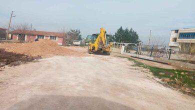 Photo of Üçgül mahallesinde stabilize yol çalışmaısı