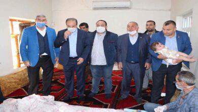 Photo of Milletvekili Özcan, Ekinci ailesine kirve oldu