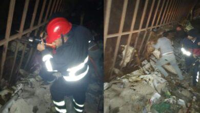 Photo of Urfa'da inek yüklü tır devrildi