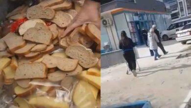 Photo of Başımıza Taş Yağacak! Markette Ekmekleri Çöpe Atıyor