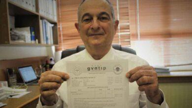 Photo of Anabilim başkanı antikor sonuçlarını paylaştı