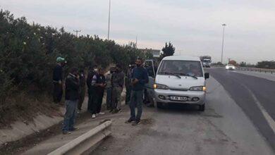 Photo of 9 kişilik araçtan 18 kişi çıktı