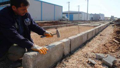 Photo of Eyyübiye Belediyesinden yeni park yapımı