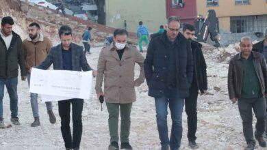 Photo of Eyyübiye'de şelale ve park yapımına başladı