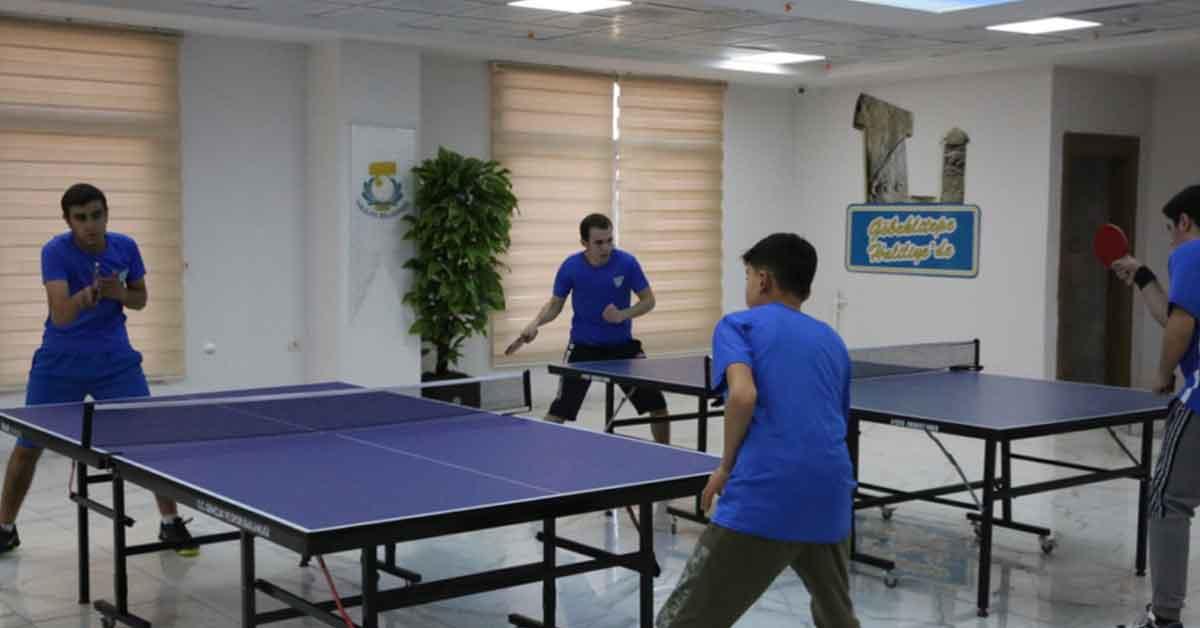 Haliliye'de lisanslı sporcular yetişiyor