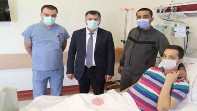 """Photo of Şanlıurfa'da """"Ciğerim"""" dediği ağabeyini, karaciğer dokusuyla hayata bağladı"""