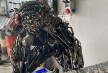 Photo of Hurda parçalarından 3 robot yaptı, sıra 4. robotta