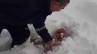 Photo of Babasını kürekle karın içine gömdü