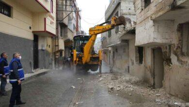 Photo of Şanlıurfa'da metruk yapılar yıkılıyor