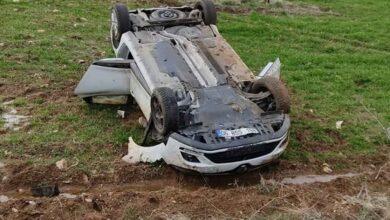 Photo of Otomobil takla attı: 3 Yaralı