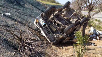 Photo of Trafik kazası araç takla attı: 3 Yaralı