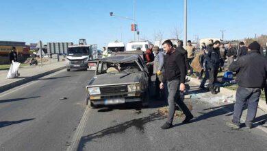 Photo of Tırın çarptığı araç savrularak taklalar attı: 3 yaralı