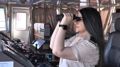 Photo of Okyanusları aşan Türk kadın kaptan