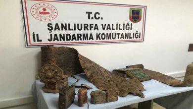 Photo of Şanlıurfa'da Ortaçağ'a ait piton derisi ele geçirildi