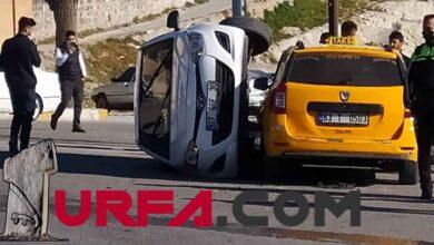 Photo of Şanlıurfa'da trafik kazası: 2 yaralı