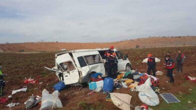 Photo of Şanlıurfa'da Tarım işçilerini taşıyan minibüs devrildi: 13 yaralı