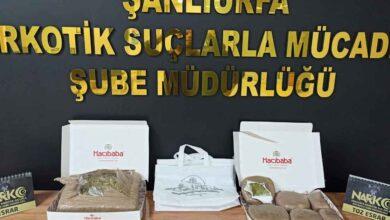 Photo of Şanlıurfa'da uyuşturucu operasyonunda 23 tutuklama