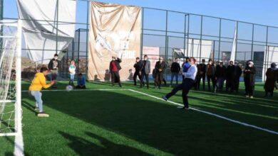 Photo of Urfa Valisi köylülerle Maç Yaptı