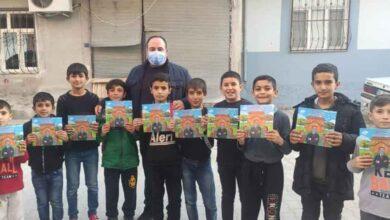 Photo of Başkan Ekinci, Çocuklara Kitap Dağıttı