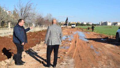 Photo of Viranşehir'de Mezalık yolunda üst yapı çalışması