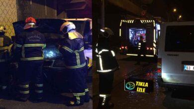 Photo of Urfa'da Gece Vakti Arabasını Kundakladılar
