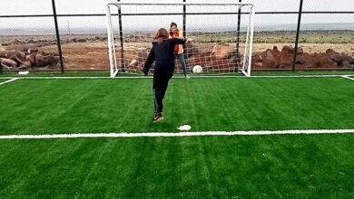 Photo of Şanlıurfalı Zekiye'nin şık golünü Bakan Kasapoğlu alkışladı